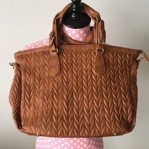 Charming Charlie Quilted Handbag